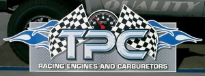 TPC Racing Engines Graphic close up