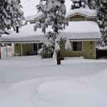 Big Bear House Winter
