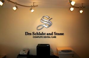 Drs Schlaht Stone Dimensional Letters