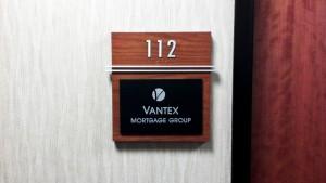 Vantex suite at Palomar Triad Sign