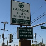 Illuminated Sign Paradise Hills Clinic